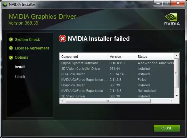 Geforce Experience Wont Install Driver After Downloading