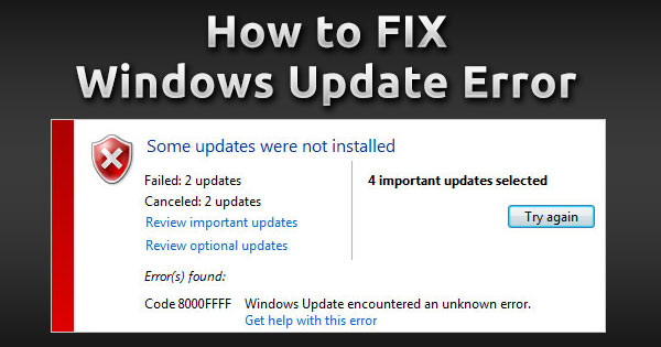 How to Fix Any Windows Update Error (Windows 7, 8, 8 1 and