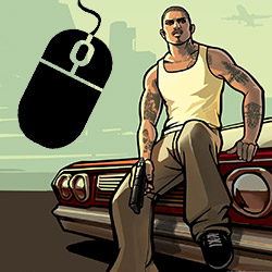 Unable To Click And Move With Mouse in GTA III / Vice City / San Andreas… How To Fix?